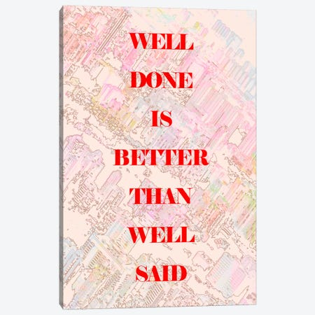 Well Done Canvas Print #11696} by Ruud van Eijk Canvas Print