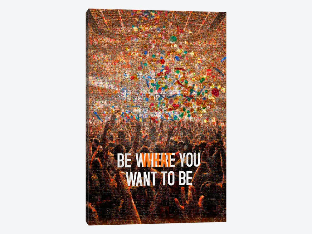 Where What by Ruud van Eijk 1-piece Canvas Wall Art