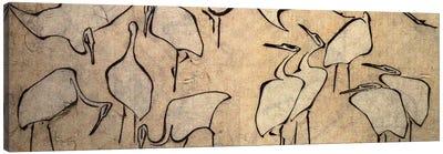 Cranes Canvas Art Print