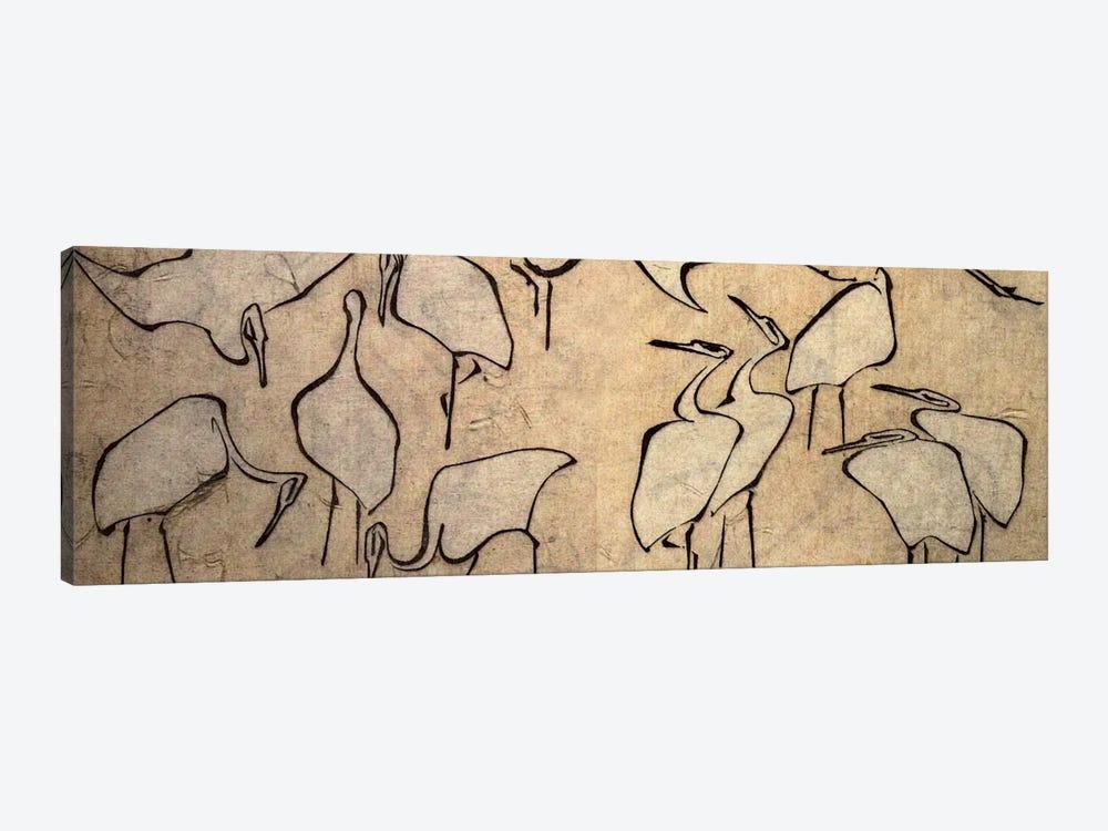 Cranes by Katsushika Hokusai 1-piece Canvas Print