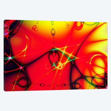 Fire Ball Canvas Print #118} by Unknown Artist Canvas Wall Art