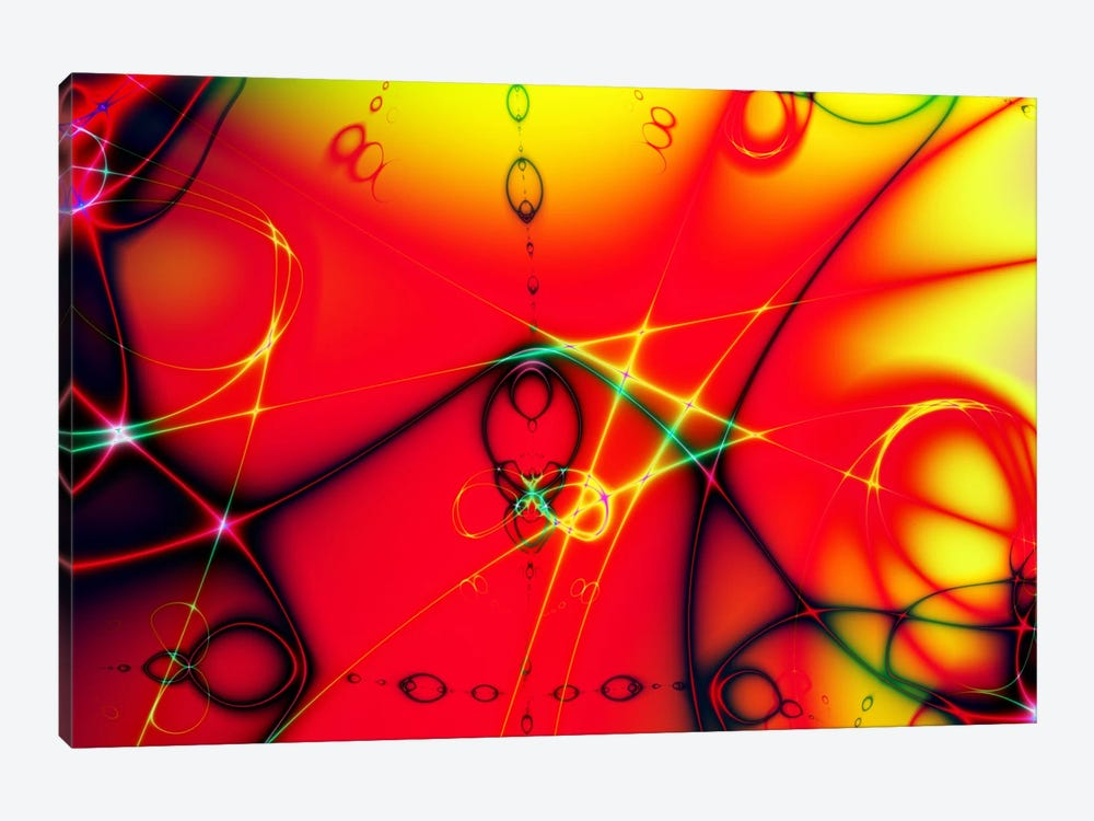 Fire Ball by Unknown Artist 1-piece Canvas Art Print