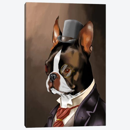 A Non-Smoking American Gentleman Canvas Print #12003} by Brian Rubenacker Canvas Print