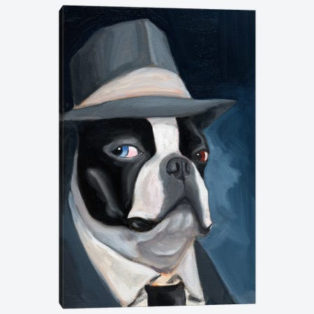 Old Blue Eye Canvas Print #12009} by Brian Rubenacker Art Print