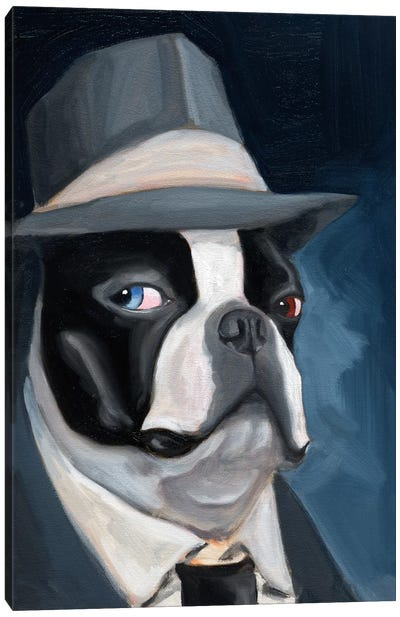 Old Blue Eye Canvas Art Print