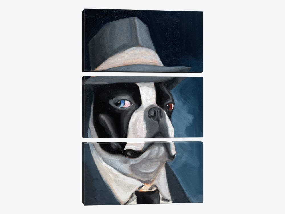 Old Blue Eye by Brian Rubenacker 3-piece Canvas Print