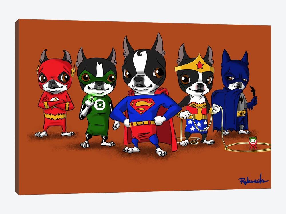 Justice League by Brian Rubenacker 1-piece Art Print