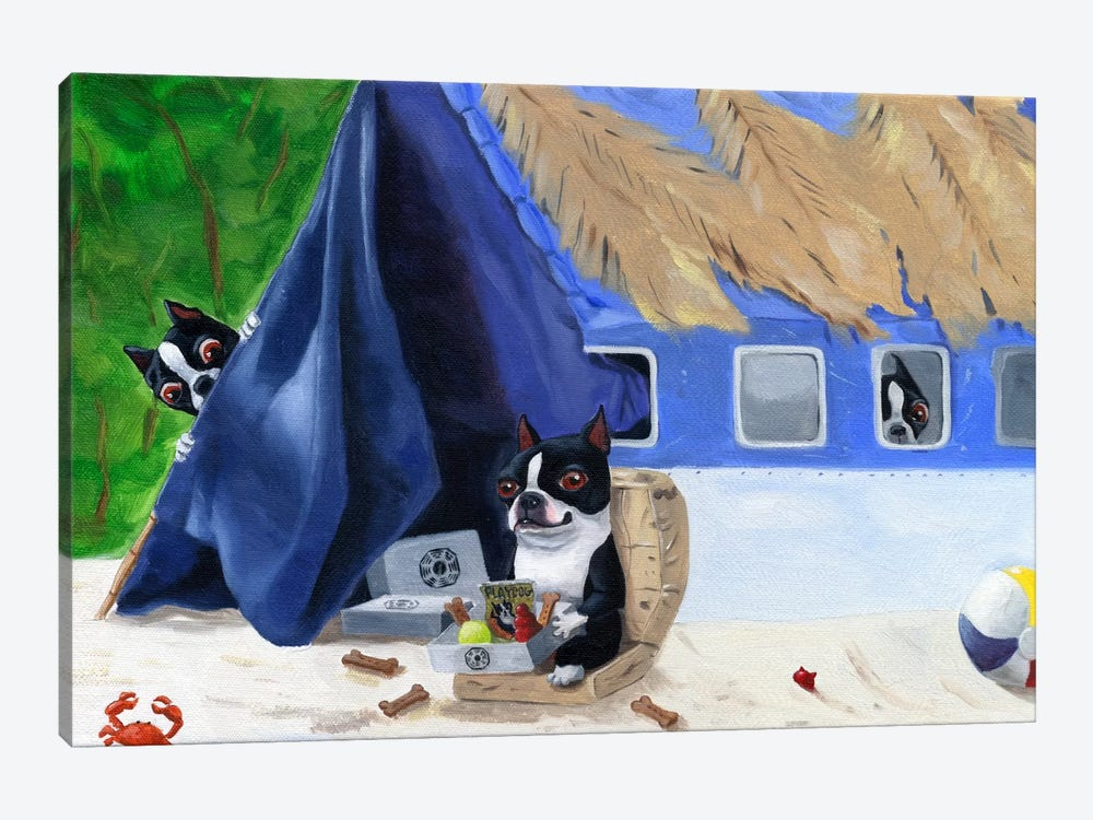 Lost by Brian Rubenacker 1-piece Canvas Art