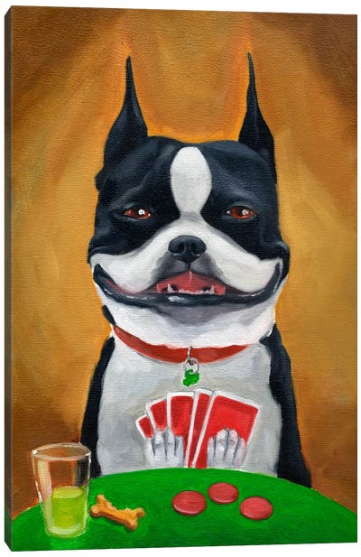 All In!!! Canvas Art Print