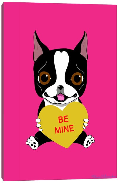 Be Mine Canvas Art Print