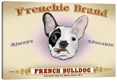 Frenchie Brand Cigar Label Canvas Art Print