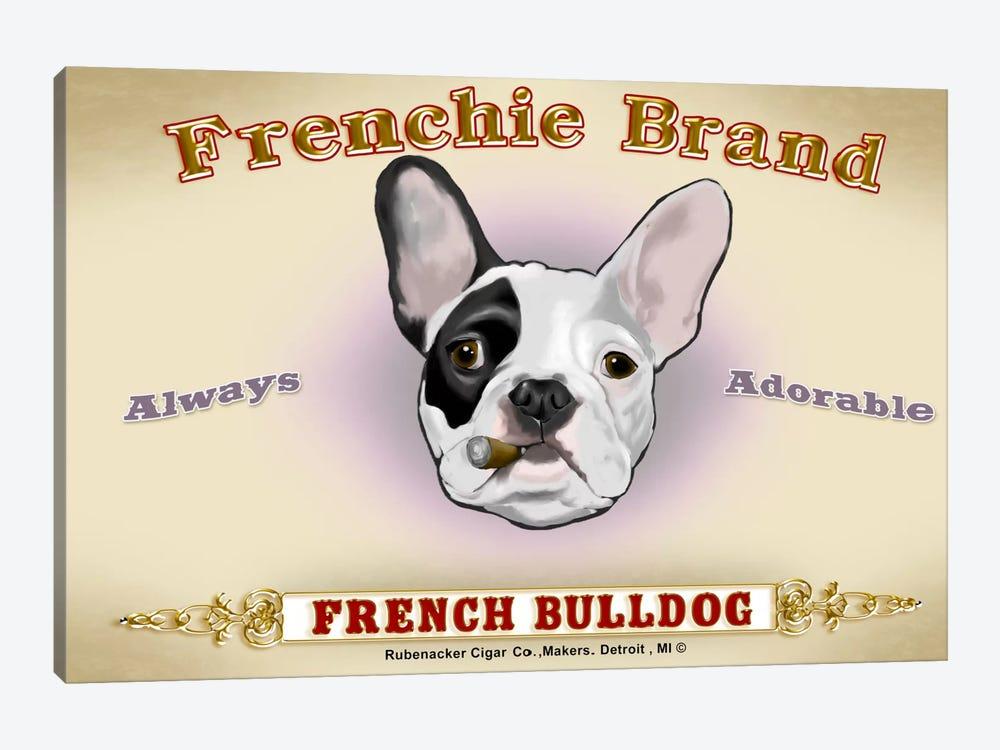 Frenchie Brand Cigar Label by Brian Rubenacker 1-piece Art Print