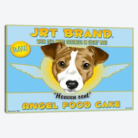 JRT Brand Angel Food Cake Canvas Print #12040} by Brian Rubenacker Canvas Art Print