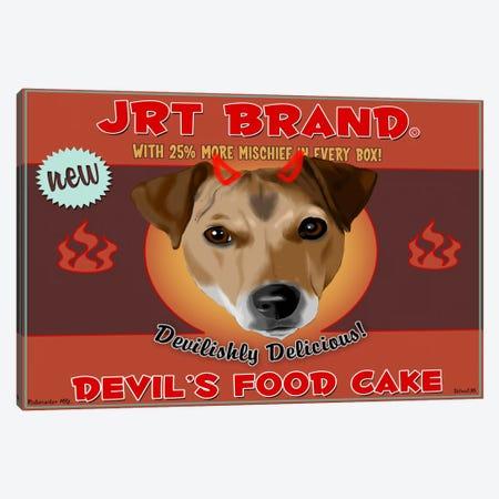 JRT Brand Devil's Food Cake Canvas Print #12041} by Brian Rubenacker Canvas Art Print