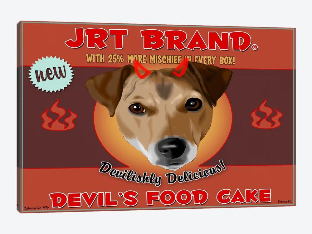 JRT Brand Devil's Food Cake by Brian Rubenacker 1-piece Canvas Print