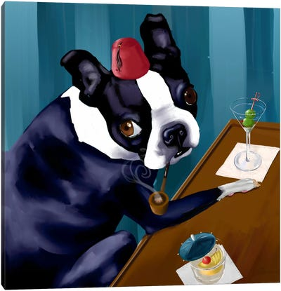 Martini Bar Canvas Print #12043