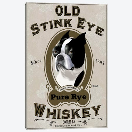 Old Stink Eye Whiskey Canvas Print #12045} by Brian Rubenacker Canvas Art