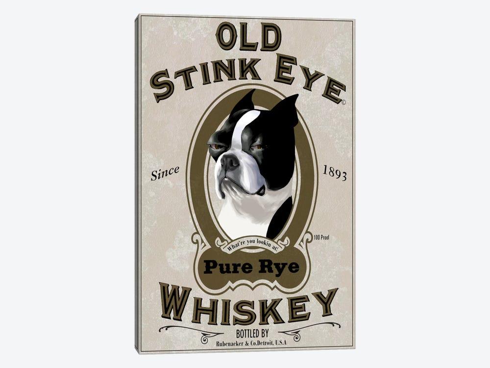 Old Stink Eye Whiskey by Brian Rubenacker 1-piece Canvas Print