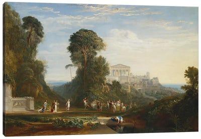 The Temple of Jupiter Panellenius Canvas Print #1212