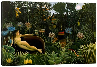 The Dream, 1910 by Henri Rousseau Canvas Artwork