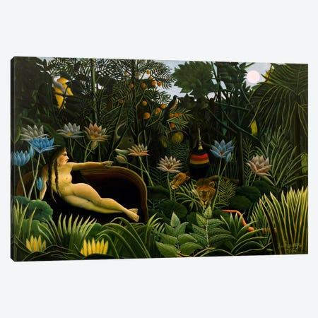 The Dream, 1910 Canvas Print #1215} by Henri Rousseau Canvas Artwork
