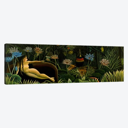 The Dream Canvas Print #1215PAN} by Henri Rousseau Canvas Art Print
