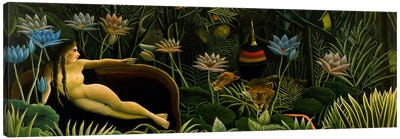 The Dream by Henri Rousseau Canvas Art Print
