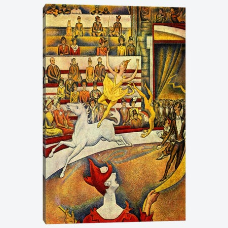 The Circus 1891 Canvas Print #1226} by Georges Seurat Art Print