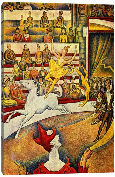 The Circus 1891 Canvas Print #1226