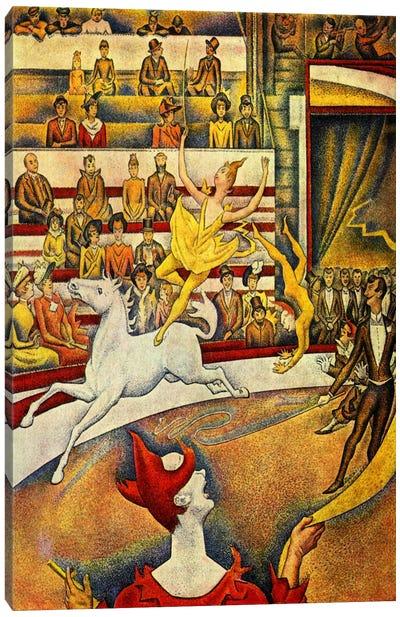 The Circus 1891 Canvas Art Print