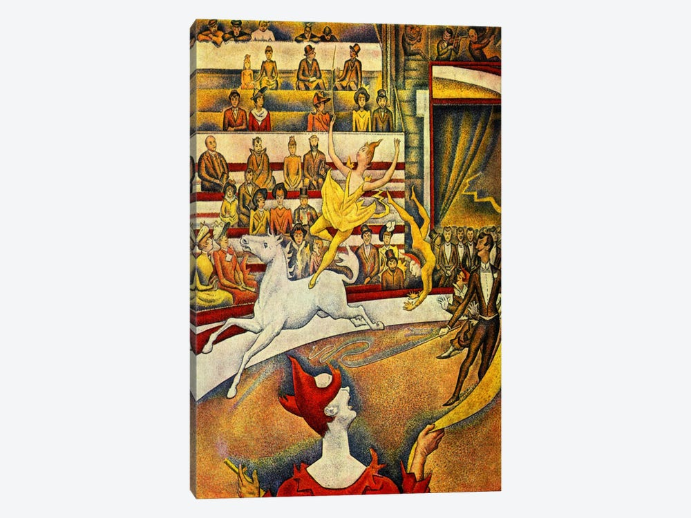 The Circus 1891 by Georges Seurat 1-piece Canvas Art Print