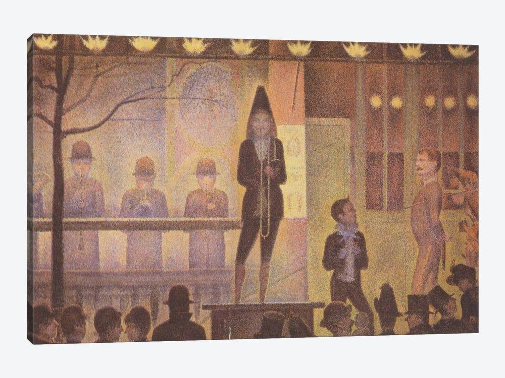 Circus Sideshow (Parade de Cirque) 1887-1888 by Georges Seurat 1-piece Canvas Art Print