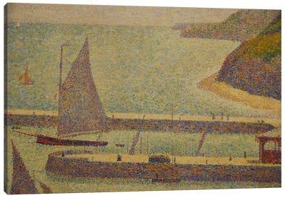 Port En Bressin Canvas Art Print