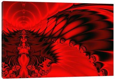 Red Falcon Canvas Art Print