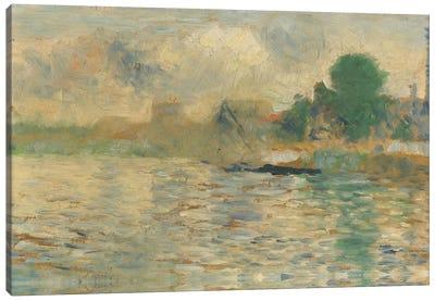 Berge De La Seine 1884 Canvas Art Print