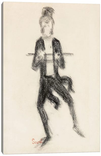 Le Danseur A La Canne 1889 Canvas Print #1233