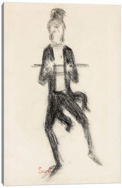 Le Danseur A La Canne 1889 Canvas Art Print