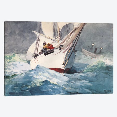 Diamond Shoal 1905 Canvas Print #1243} by Winslow Homer Canvas Art