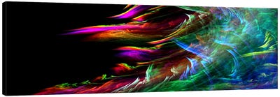 Fire Wave (Panoramic) Canvas Print #124PAN