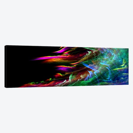 Fire Wave(Panoramic) Canvas Print #124PAN} by Unknown Artist Canvas Print
