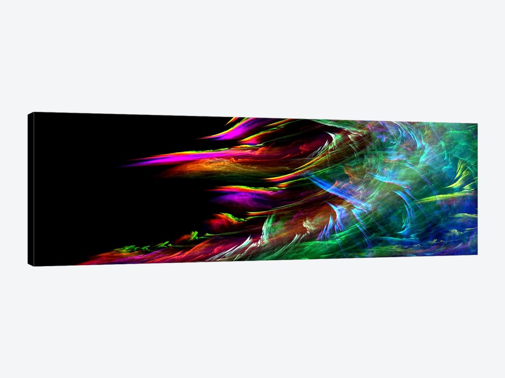 Fire Wave(Panoramic) by Unknown Artist 1-piece Canvas Art Print