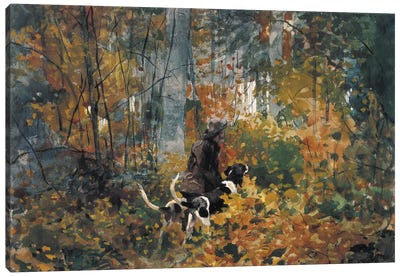 On the Trail 1892 Canvas Art Print