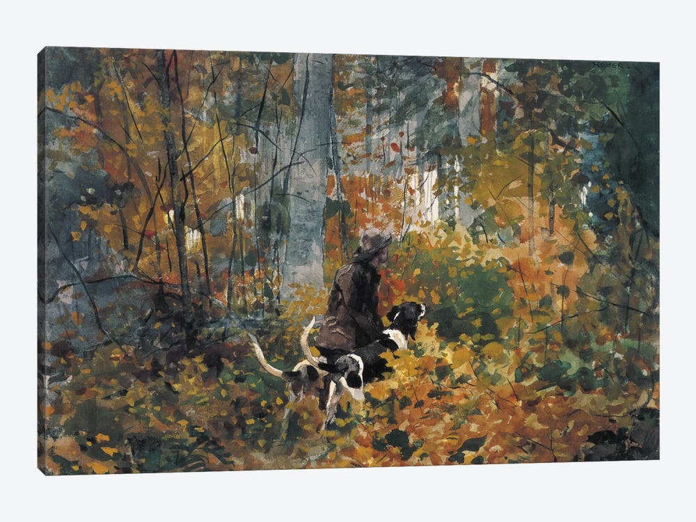 On the Trail, 1892 by Winslow Homer 1-piece Canvas Print