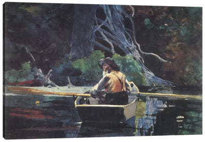 The Adirondack Guide, 1894 Canvas Art Print