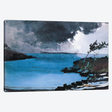 The Coming Storm 1901 Canvas Print #1262} by Winslow Homer Canvas Art
