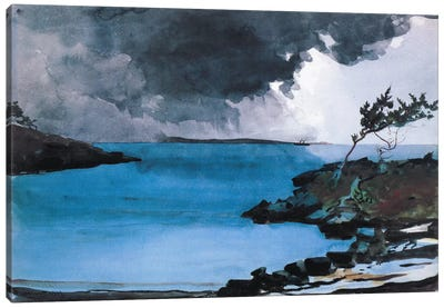 The Coming Storm 1901 by Winslow Homer Canvas Art