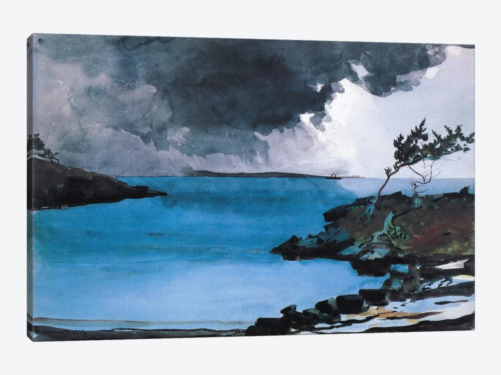The Coming Storm 1901 by Winslow Homer 1-piece Art Print