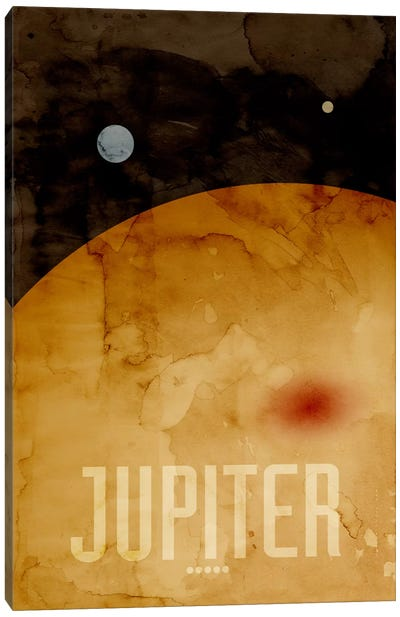 The Planet Jupiter Canvas Art Print