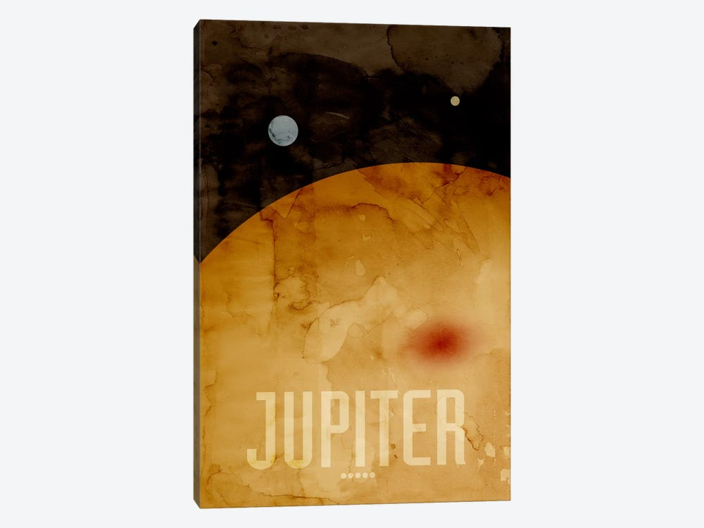 The Planet Jupiter 1-piece Canvas Wall Art