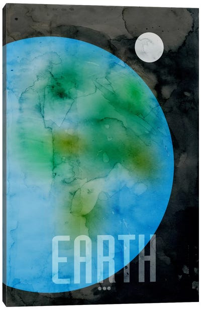 The Planet Earth Canvas Art Print